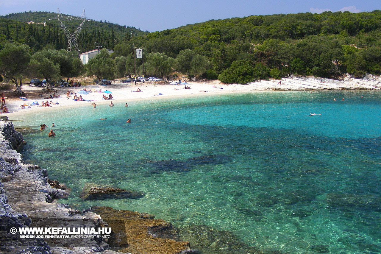 Emblissi beach, Kefalonia